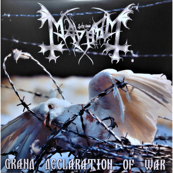 MAYHEM - Grand declaration of war 2LP Back On Black UUSI colour vinyls