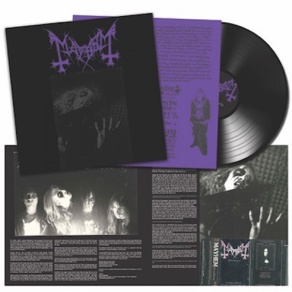 MAYHEM - Live In Leipzig LP UUSI Peaceville