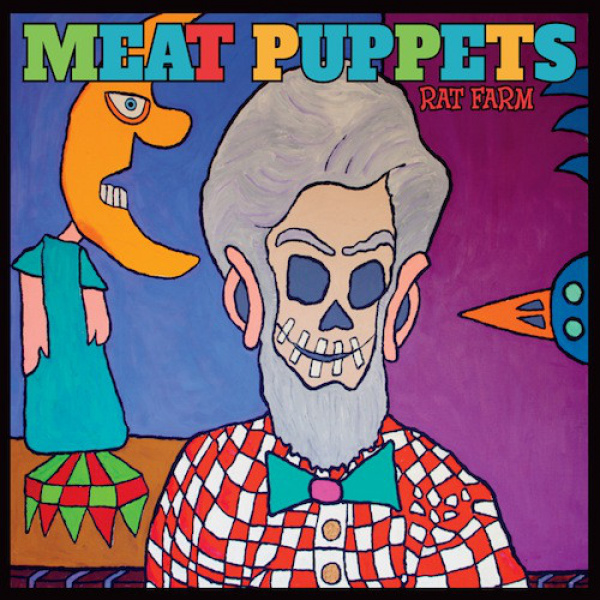 MEAT PUPPETS - Rat Farm LP Megaforce UUSI