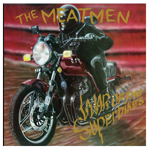 MEATMEN - War of the superbikes LP Drastic Plastic UUSI