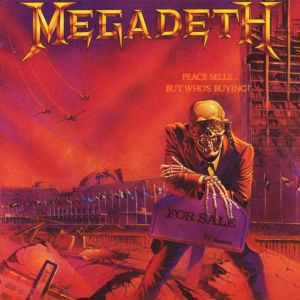 MEGADETH - Peace Sells... But Who's Buying? LP Capitol UUSI