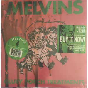 MELVINS - Gluey porch treatments LP LTD Lime Green Vinyl