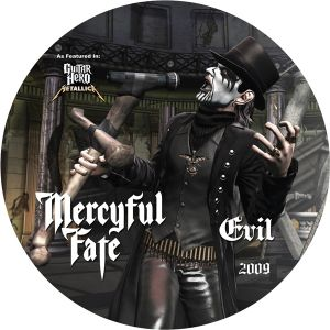 MERCYFUL FATE - Evil / Curse of the pharaohs 2009 PICTURE-12-INCH Massacre