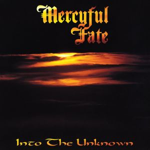 MERCYFUL FATE - Into The Unknown LP UUSI Metal Blade BLACK