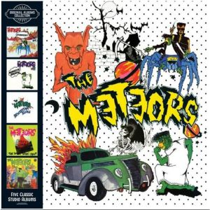 METEORS - Original Albums Collection  5CD