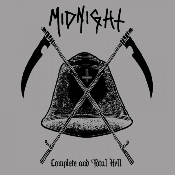 MIDNIGHT - Complete and Total Hell 2LP UUSI LTD 800 CLEAR/BLACK SPLATTER