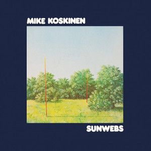 KOSKINEN MIKE - Sunwebs LP BLUE VINYL Svart Records