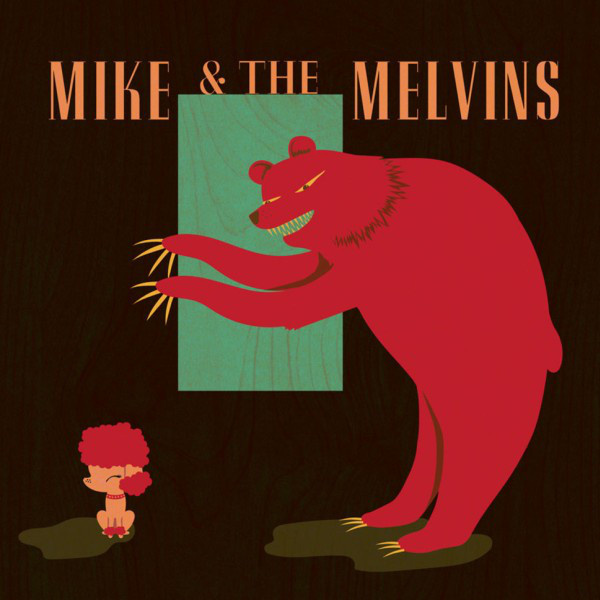 MIKE & THE MELVINS - Three Men And A Baby LP Sub Pop LTD LOSER EDITION COLOUR VINYL