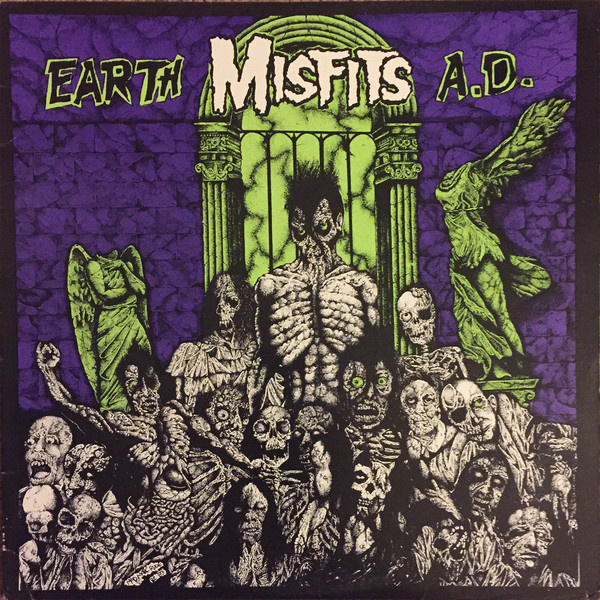MISFITS - Earth A.D./Wolf's blood LP Plan9/Caroline UUSI
