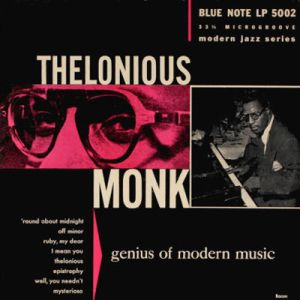 MONK THELONIOUS - Genius of modern music vol 1