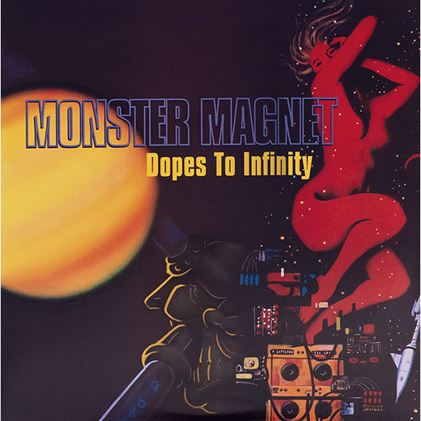 MONSTER MAGNET - Dopes to infinity 2-LP A&M/OBS ALT UUSI M/M