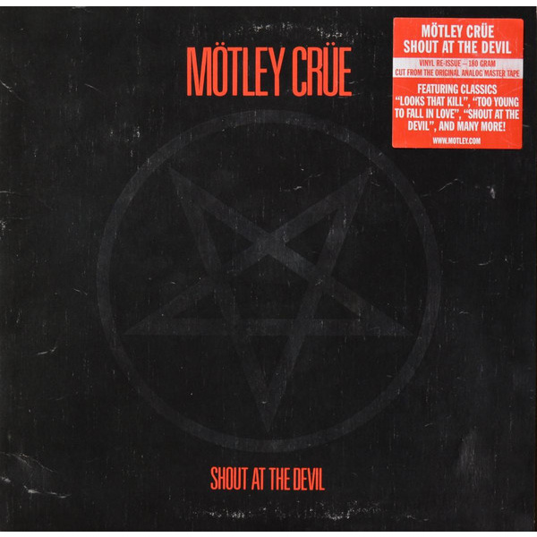 MÖTLEY CRÜE - Shout At The Devil LP UUSI ElevenSeven/Mötley Records