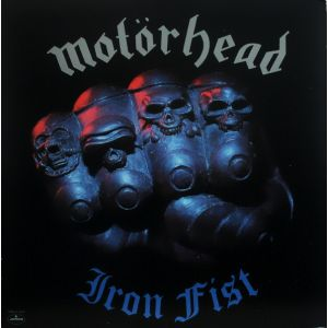MOTÖRHEAD - Iron Fist LP UUSI Bronze/Mercury