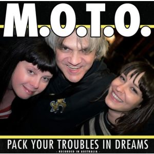 M.O.T.O. - Pack your troubles in dreams LP Svart UUSI LTD 500 COPIES M/M