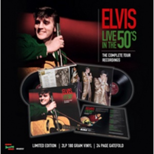 PRESLEY ELVIS - Live In The 50's - The Complete Tour Recordings 2LP