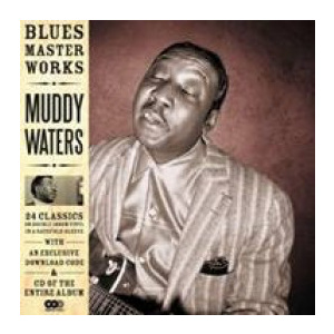 MUDDY WATERS - Blues Master Works 2LP Delta Blues incl CD