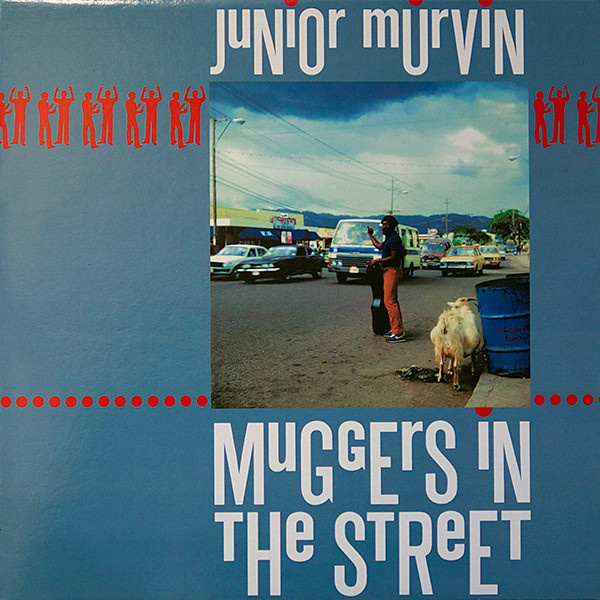 JUNIOR MURVIN - Muggers In The Street LP Greensleeves Records