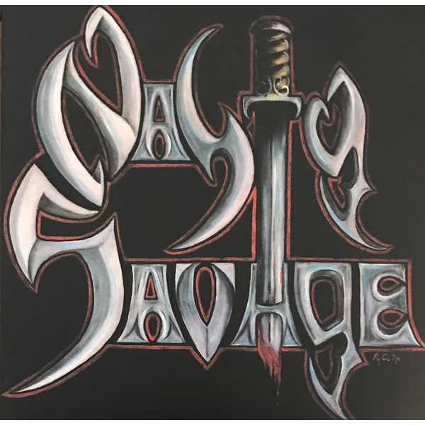 NASTY SAVAGE - Nasty Savage LP UUSI Metal Blade BLACK VINYL