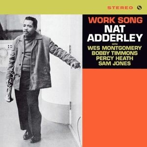 NAT ADDERLEY - Work Song LP UUSI Spiral