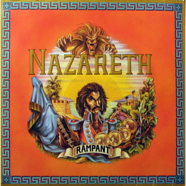 NAZARETH - Rampant 180gr LP Music on Vinyl