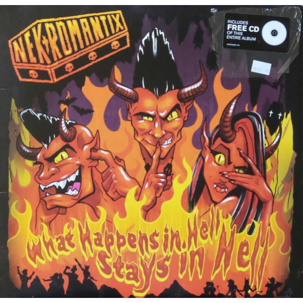 NEKROMANTIX - What Happens In Hell Stays In Hell LP Hellcat UUSI