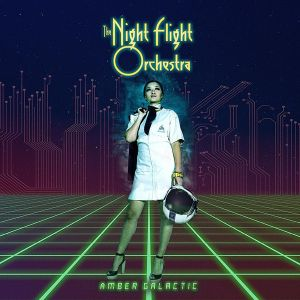 NIGHT FLIGHT ORCHESTRA - Amber Galactic 2LP