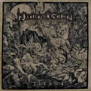 NOCTURNAL GRAVES - Titan LP FIRST PRESSING BLACK