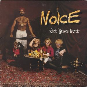 NOICE - Det tjuva livet LP Sonet gf PROMO-sticker on back cover EX-/EX- (TARJOUS)
