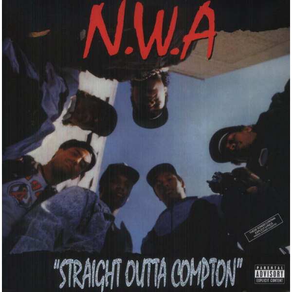 N.W.A. - Straight outta compton LP UUSI Universal