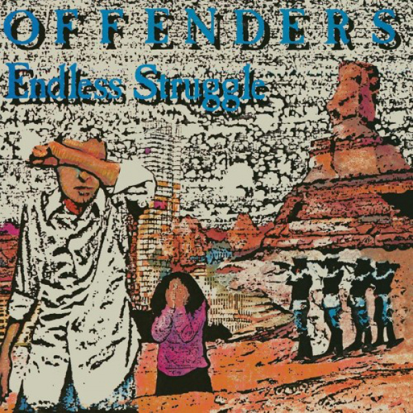 OFFENDERS - Endless Struggle/We Must Rebel/I Hate Myself 2LP UUSI Southern Lord