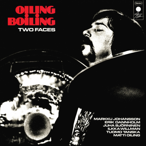 OILING BOILING - Two Faces LP Svart LTD 200 CLEAR VINYL