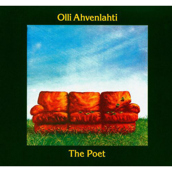 OLLI AHVENLAHTI - The Poet LP Svart BLACK