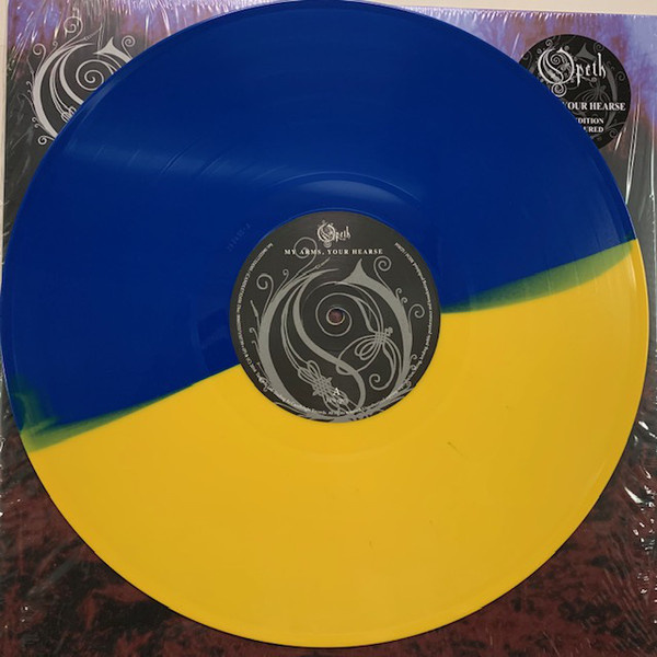 OPETH - My Arms, Your Hearse 2LP  Candlelight Records Reissue, Blue/Yellow Vinyl