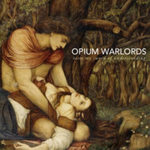 OPIUM WARLORDS - Taste my sword of understanding 2LP GOLD VINYL