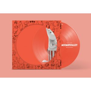 SOUNDTRACK - Moominvalley (Muumi) Orange vinyl pic disc LP