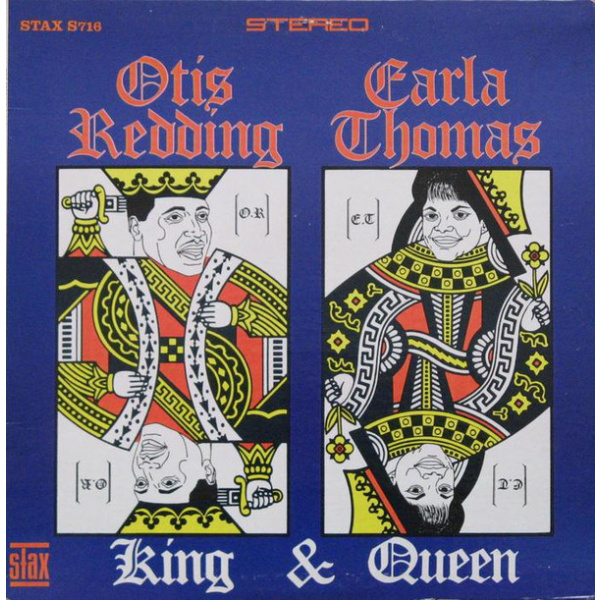 OTIS REDDING & CARLA THOMAS - King & Queen UUSI Stax