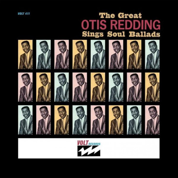 OTIS REDDING - The Great Otis Redding Sings Soul Ballads LP UUSI Volt Rhino