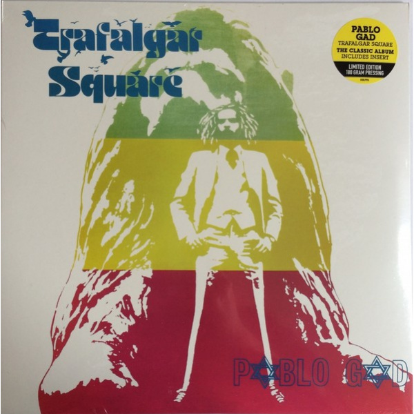 PABLO GAD - Trafalgar Square LP UUSI Burning Sounds