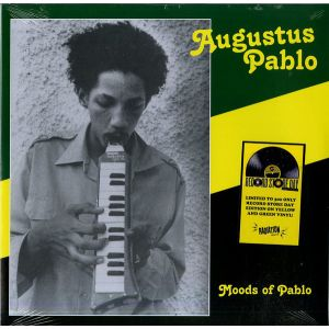 AUGUSTUS PABLO - Moods Of Pablo LP UUSI Radiation Roots LTD 300 YELLOW - RSD 2019 RELEASE