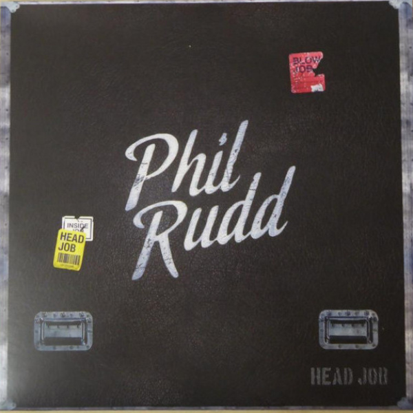 PHIL RUDD - Head Job LP +CD UUSI SPV