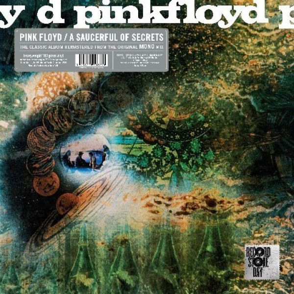 PINK FLOYD - A Saucerful Of Secrets LP MONO VERSION (RSD 2019 release)