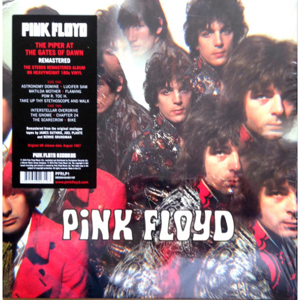 PINK FLOYD - The Piper At The Gates Of Down LP Parlophone REMASTERED 2016 VERSION
