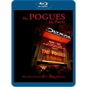POGUES - Paris -30th anniversary concert  Blu-ray Disc