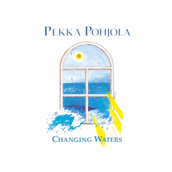 POHJOLA PEKKA - Changing waters LP Svart LTD 300 Black Vinyl