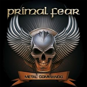 PRIMAL FEAR - Metal Commando 2LP UUSI BLACK VINYL