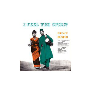 PRINCE BUSTER - I Feel The Spirit LP Dynamite UUSI