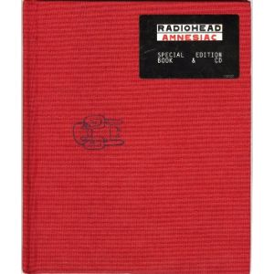 RADIOHEAD - Amnesiac LTD BOOK EDITION
