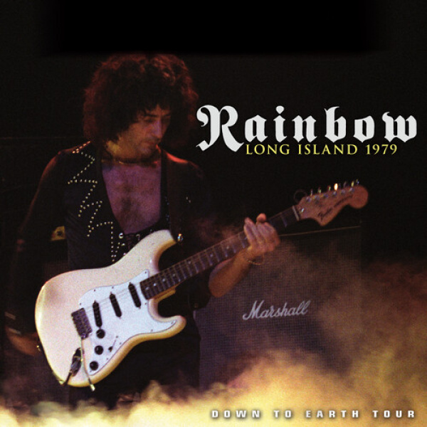 RAINBOW - Long Island 1979 Down To Earth Tour 2LP LTD 1000 YELLOW vinyls Cleopatra