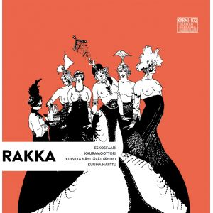 RAKKA/BLACK MOTOR - Split LP+CD