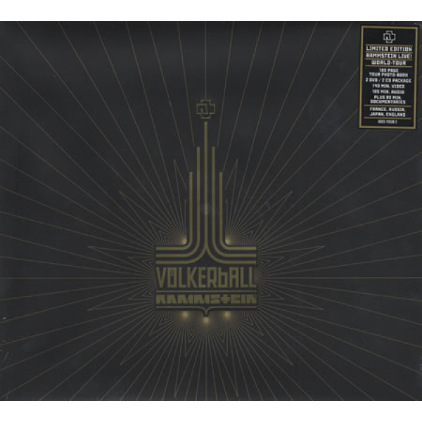 RAMMSTEIN - Völkerball 2DVD+2CD+BOOK